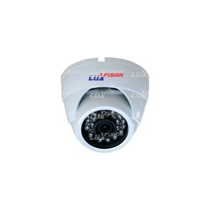 CAMERA 3,6MM DOME IR 20M CMOS 1/4  24 LEDS  EXT. 1.0MP 12V600mA 3,6MM D1/CIF-IP-ON VIF 2.0-LUXVISION