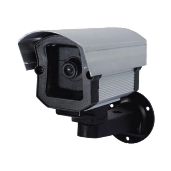 CAMERA FALSA MICRO BABY ANODIZADA C/ LED C/SUPORTE – 100X60X65MM – CONFISEG 1