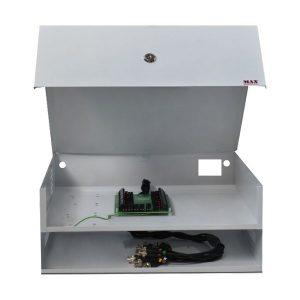 RACK BOX LIGHT 8 C/ FUSIVEL DE PROT. IND.-MAXELETRON