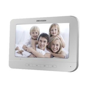 MONITOR INTERNO P/ VIDEO PORTEIRO TELA 7'' LCD DS-KH2220T - HIKVISION