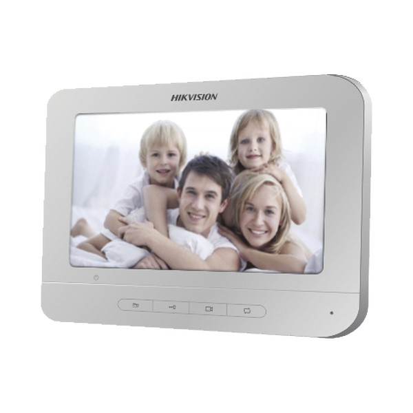 """MONITOR INTERNO P/ VIDEO PORTEIRO TELA 7"""" LCD DS-KH2220T – HIKVISION 1"""