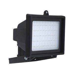 REFLETOR 45 LEDS S/SENSOR PRETO QUADRADO BIVOLT DNI 6046