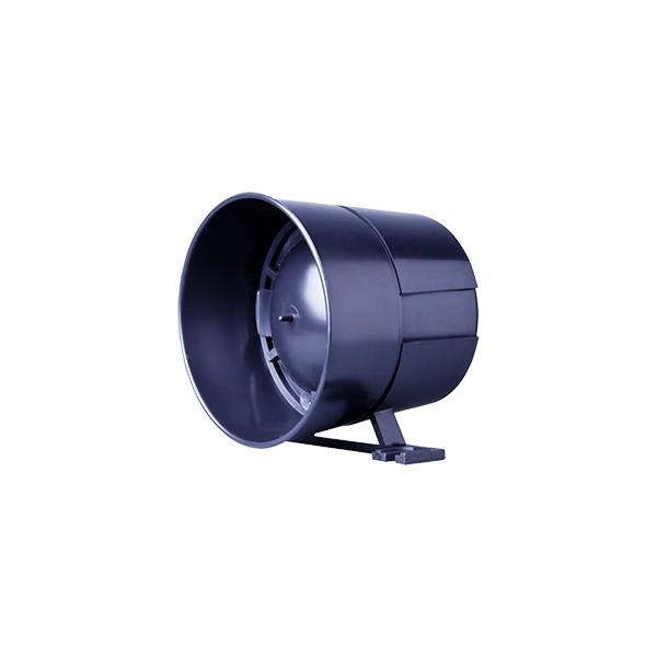 SIRENE TATY LIGHT PRETA PIEZOELETRICA – 2 TONS – 120dB -12V- 200mA – MOREY 1