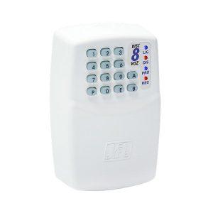 DISCADORA TELEFONICA UNIVERSAL - 8 NUMEROS - GRAVA ATÉ 20 SEG. DE VOZ - DISC-8 VOZ - JFL