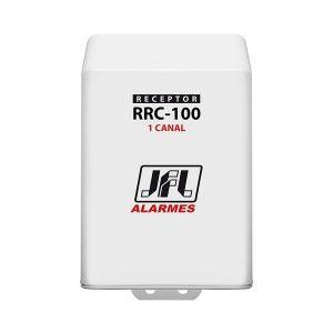 RECEPTOR 1 CANAL - 300TX/40 SENSORES 433,92MHz - C/ OU S/ RETENÇÃO - 1 RELE - RRC-100 - JFL