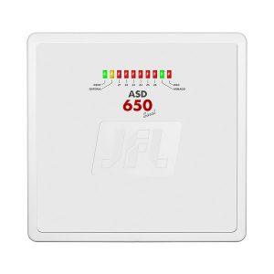 CENTRAL DE ALARME 6 Z PROG (4 MISTAS E 2 C/FIO) C/DISC - SEM TECLADO - ASD-650 SINAL - JFL