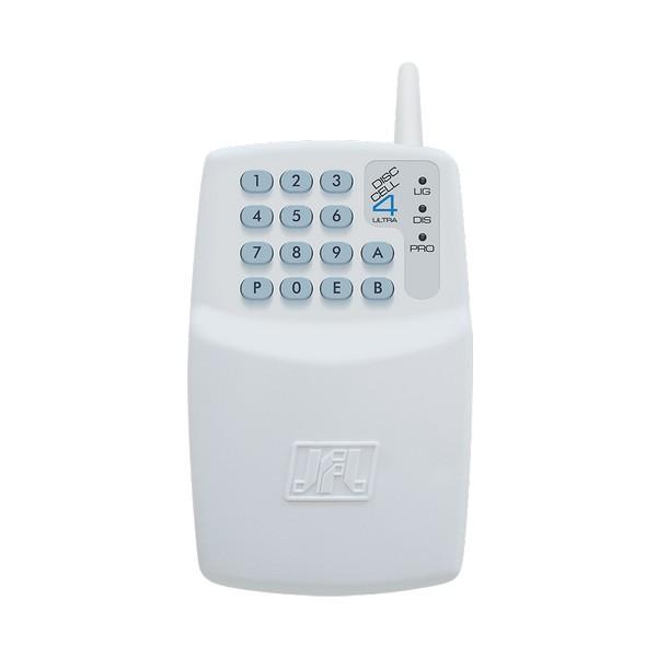 DISCADORA GSM COM TECLADO P/ ATE 4 NUMEROS + 4 SMS – DISC CELL 4 ULTRA – JFL 1