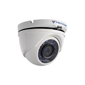 CAMERA 2,8MM DOME TECVOZ IR Digital 25 Mts 800TVL 1/3 0L ICR IP66 - 24 LEDS