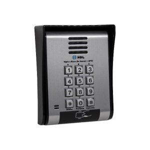 UNIDADE EXTERNA PORT ELETRONICO F12 SCA - ACESSO POR RFID - TECL. METALICO - 90.02.01.236 - HDL