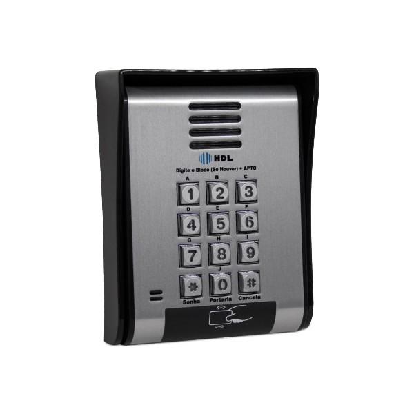 UNIDADE EXTERNA PORT ELETRONICO F12 SCA – ACESSO POR RFID – TECL. METALICO – 90.02.01