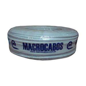 CABO MANGA 4X0,50mm 100M BRANCO MACROCABOS