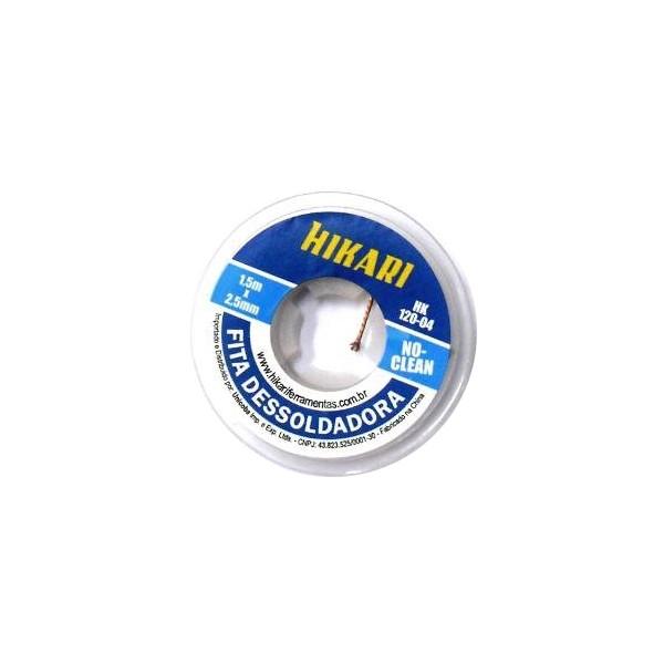 FITA DESSOLDADORA 1,5MX2,5MM CLEAN – HK-120-04 – HIKARI 1
