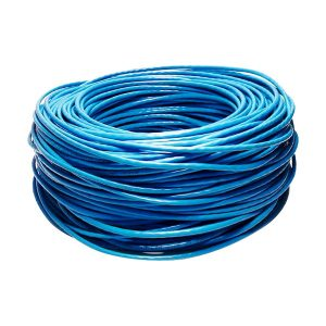 CABO LAN CAT5 4 PARES X 0,50 - CX C/305MTS - AZUL - ANATEL 100% COBRE - NEXT CABLE