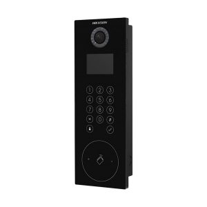 VIDEO PORTEIRO IP 1.3MP TOUCH LCD 3,5'' IP65 C/LEITOR - DS-KD8102-V HIKVISION - SIMILAR DS-KD3002-VM